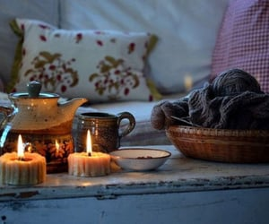 candles, cozy, and hygge image