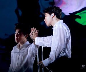 jin, park jimin, and taehyung image