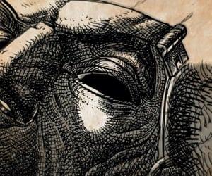 black eyes, borderlands, and drawing image