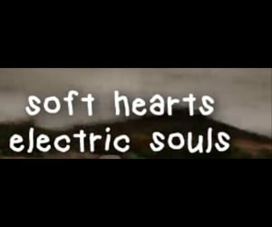 aesthetic, heart, and electric image