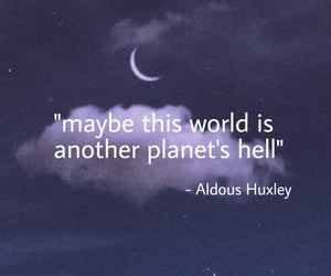 aldous huxley, hell, and world image