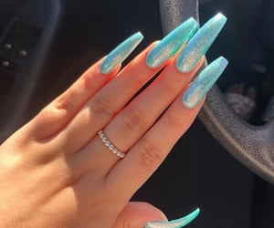 nails, claws, and glitter image