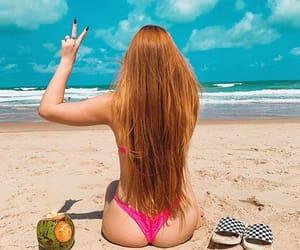 beach, br, and bikini image