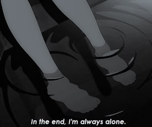alone, sad, and anime image