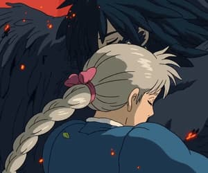 anime, embrace, and gif image