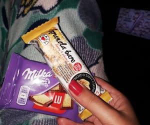 chocolate, food, and night image