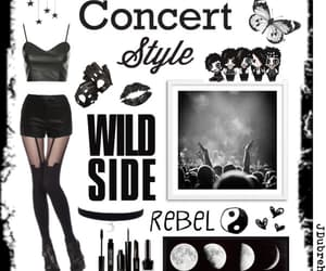 concert, Polyvore, and fashion image