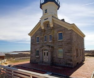 lighthouse, places, and rhode island image