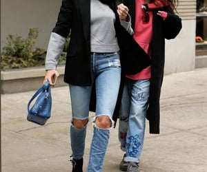 nyc, supermodel, and outfit image