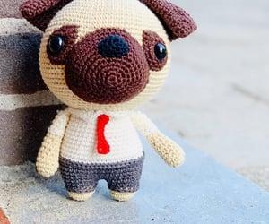 art, pug, and adoreble image