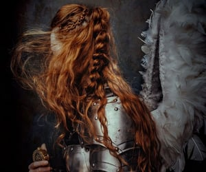 aesthetic, red hair, and fairytale image