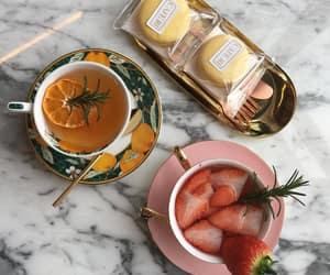 food, style, and tea image