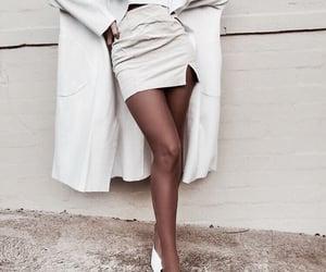 beauty, fashion, and white image