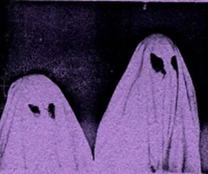 ghost, grunge, and purple image