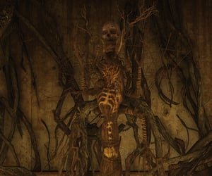 creepy, fallout, and skeleton image