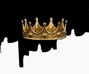 art, crown, and prince image