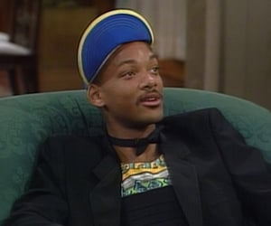 90s, fresh prince, and will smith image