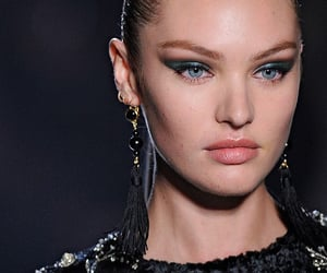 beauty, fashion week, and makeup image