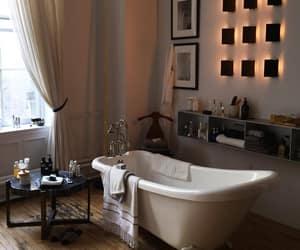 bathroom, home, and bath image