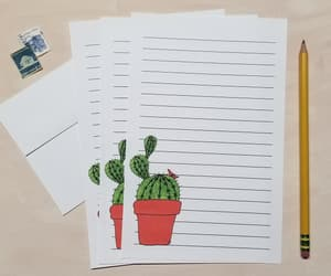 cactus, Paper, and stationery image