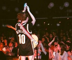 Basketball, concert, and guitar image