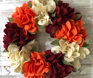 etsy, fall wreath, and thanksgiving wreath image
