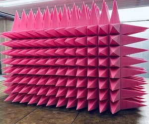 art, pink, and sculpture image