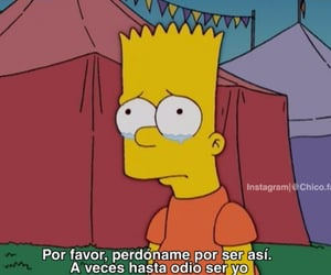 bart, frases, and lágrimas image