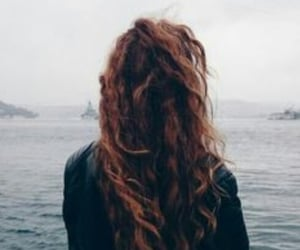 aesthetic, ginger, and ocean image