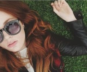 aesthetic, glasses, and ginger image