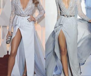 evening gowns, robe de soirée, and sexy evening dress image