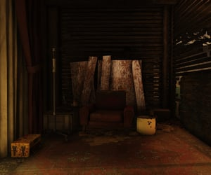 abandoned, fallout, and run-down image