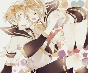 anime, anime girl, and kagamine len image