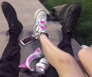 goth, aesthetic, and couple image