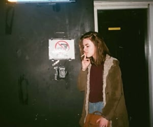 aesthetic, girlfriend, and cigarette image