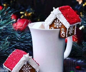 christmas, Cookies, and cocoa image