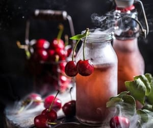 cherry, cool, and drink image