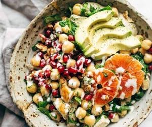 food, salad, and healthy image