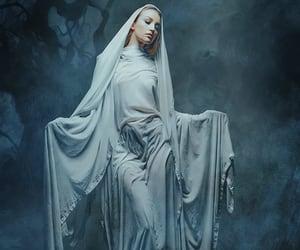 dark, wastelands, and woman image