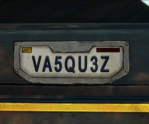 car, vanity, and license plate image