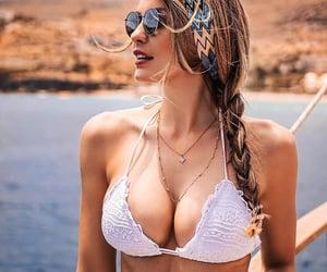beach, girls, and meninas image