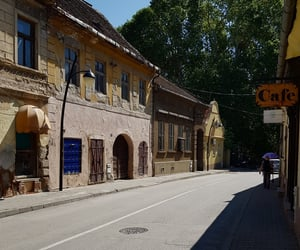 cafe, Serbia, and oldcity image
