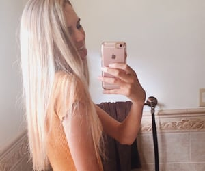 blonde, girlfriend, and girls image