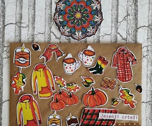 autumn, fall, and stickers image