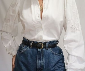 blouse, gold, and inspiration image