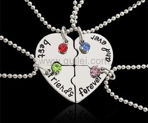 birthday, best friends necklaces, and gifts image