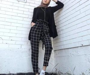 fashion, ootd, and hijab image