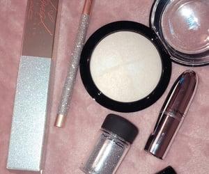 girly, glitter, and lipgloss image