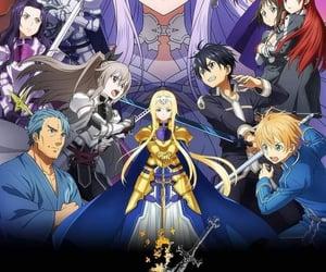 anime, sword art online, and anime girls image