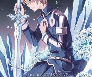 anime, anime boy, and sword art online image